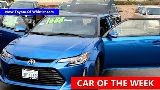 Lease or Buy Scion TC Deals On New or Used Car Toyota Of Whittier Should I Los Angeles 888-718-3693