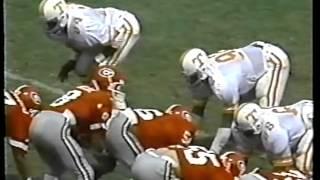 1981 #10 Georgia Bulldogs vs. Tennessee Volunteers