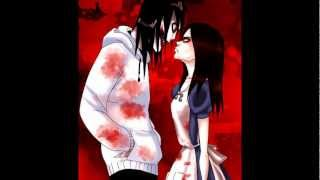 Repeat youtube video Jeff The Killer and Alice Liddell - Bloody Mary [Lady Gaga]