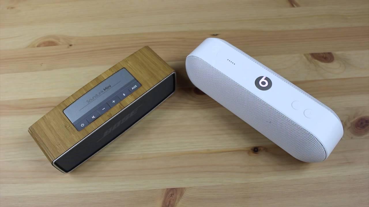Bose Soundlink Mini vs Beats Pill Plus - Head to Head Comparison