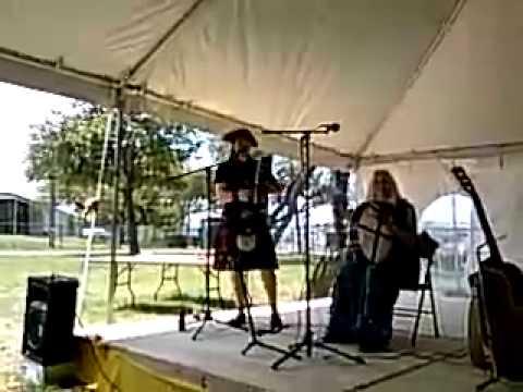 Friend Erika singing Hobbit drinking song
