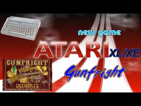 Atari XL/XE new game -=Gunfright=-