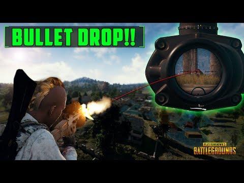 Master Bullet Drop!! - PlayerUnkowns Battlegrounds