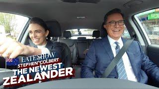 Download Stephen Colbert: The Newest Zealander Visits PM Jacinda Ardern Mp3 and Videos