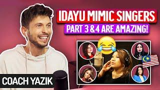 Download YAZIK reacts to IDAYU Mimic Stars pt 3 & 4