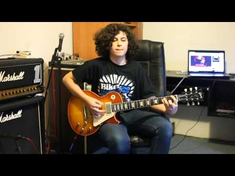 Led Zeppelin Stairway To Heaven Solo Cover By Andrei Cerbu Youtube