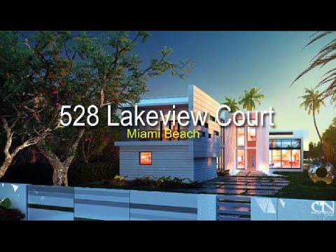 528 Lakeview Court  Miami Beach Modern Homes For Sale South Beach - Mansions - Villas Lake View