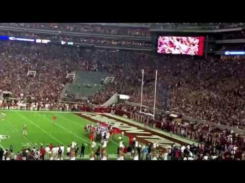 Bryant Denny Stadium Rocking - Alabama Football vs Ole Miss