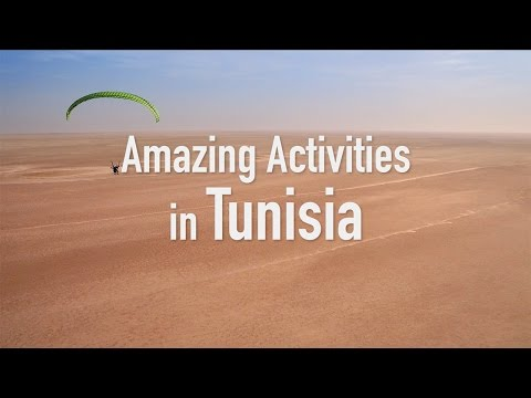 Amazing activities in Tunisia