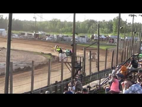 Paradise Speedway Brandyn Griffin heat race 7/1/17