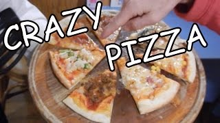 Crazy Japanese Pizza Toppings - Eric Meal Time #52