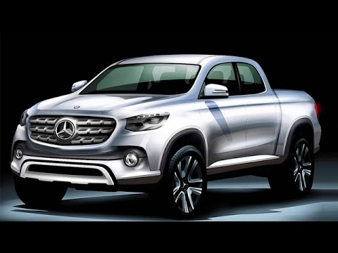 Mercedes Benz Pickup Truck Confirmed Launch For 2020 - YouTube