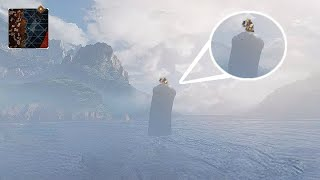 Worlds First Person to land on the Apex Loch Ness.. (Easter Egg Glitch)