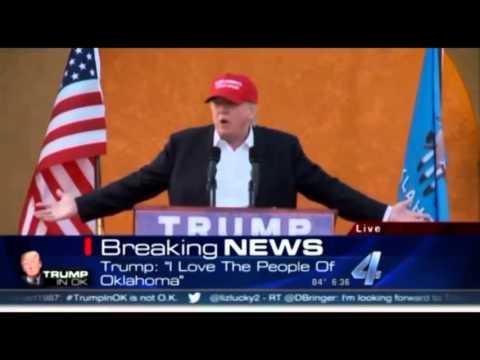 Presidential Election 2016: Donald Trump in Oklahoma ...