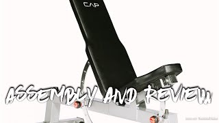 CAP Deluxe Utility (FID) Bench - Assembly and Review