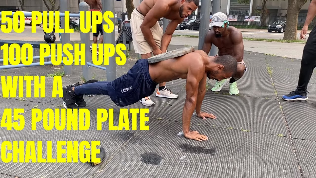 The Ultimate 50 Pull ups and 100 Push ups Challenge - Miguel | That's Good Money