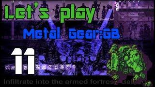 Metal Gear: Ghost Babel / Metal Gear Solid [GBC]. Прохождение. Чаcть XI
