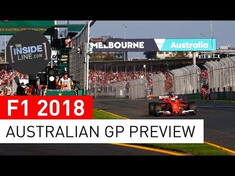 F1 NEWS 2018 - AUSTRALIAN GRAND PRIX: RACE PREVIEW [THE INSIDE LINE TV SHOW]