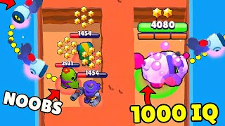 1000 IQ *NANI* vs *NOOBS* in Brawl Stars! Fails & Wins #166