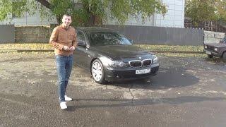 Обзор BMW E65 730d Разгон 0-100