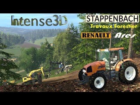 Farming Simulator 15 Renault Ares 620 RZ Stappenbach Forestier #3
