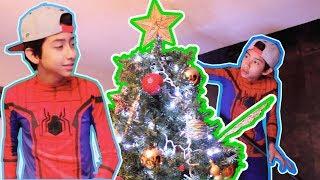NAVIDAD CON SPIDERMAN HOMECOMING/ CHRISTMAS WITH SPIDERMAN HOMECOMING