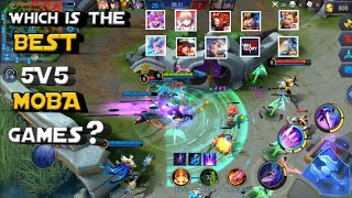 Top 11 Best 5v5 MΟBA Games Of All Time For Android | Which is the best MOBA? |