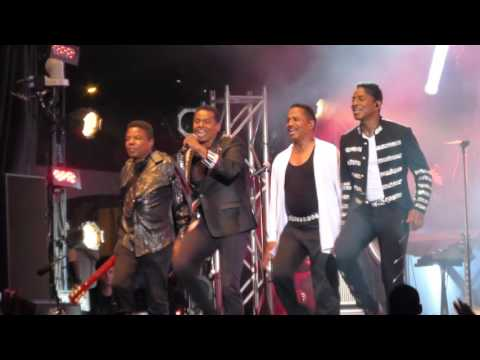 The Jacksons  Feel ItBlame It on the BoogieRock With You  at Just For Laughs Montreal