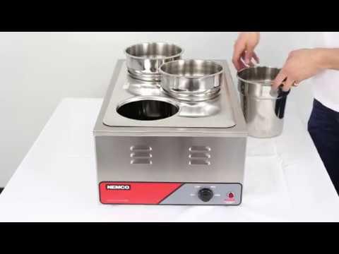 A Closer Look: Nemco 6055A Countertop Food Warmer