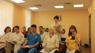 Защита диплома 2017 апрель. Обучение в Академии гирудотерапии в Санкт-Петербурге.