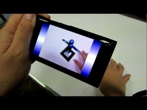 Augmented Reality demo with Qt3D and NyARToolkit