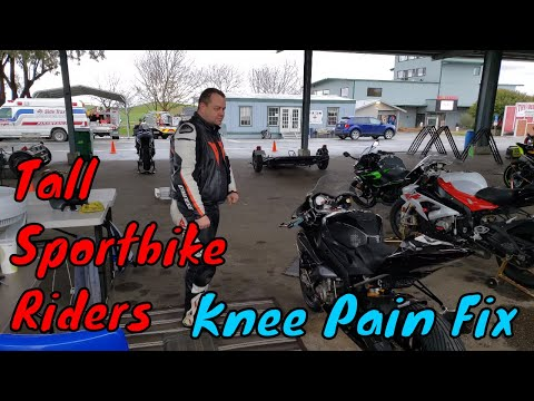 tall-sportbike-riders---knee-pain-management-w/-custom-seat- -irnieracing4k