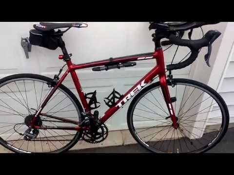 2015 Trek 1.1 road bike review.