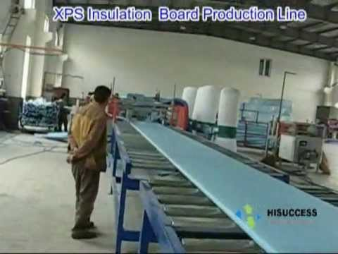 xps production line ps extrusion polystyrene board extruded polystyrene youtube. Black Bedroom Furniture Sets. Home Design Ideas