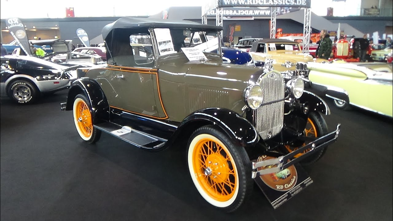 1929 ford a roadster exterior and interior retro for Interio stuttgart