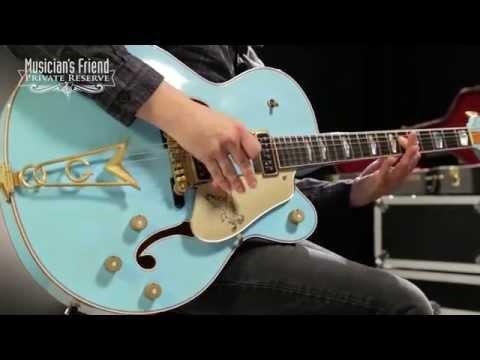 Gretsch Guitars Custom Shop Falcon '55 Relic Electric Guitar Daphne Blue