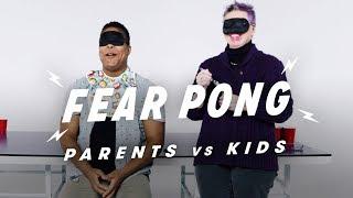 Parent vs. Kid - Aaron & Shirley | Fear Pong | Cut