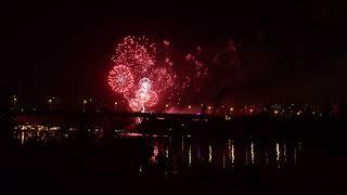 Фестиваль фейерверков в Москве 2017 | The international fireworks festival ROSTEC