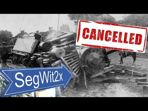 Live Look: Segwit2x HF cancelled?!??
