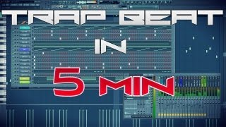 MAKING A TRAP BEAT IN 5 MIN *BANGER* - TUTORIAL BEAT (FREE DL MP3)