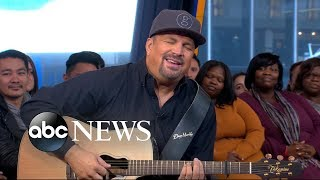 Garth Brooks gets emotional while dishing on his new song 'Stronger Than Me'