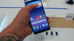 Samsung Galaxy Note 8 first look at Best Buy