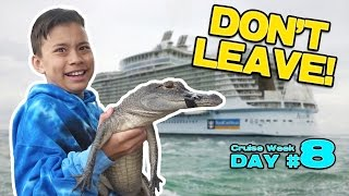 GATORS IN THE WATER!!! Nintendo Switch at the Airport! GRAND FINALE! [CRUISE WEEK DAY 8] thumbnail