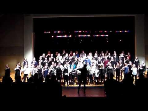 Boone Grove Choir - March Disney Concert 2017 -