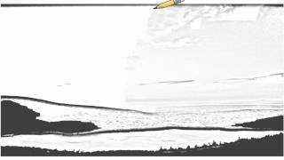 Auto Draw 2: Eagle Lake, Acadia National Park, Maine