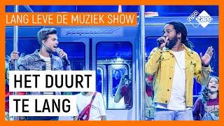DUURT TE LANG DOOR GLEN FARIA EN BUDDY VEDDER | Lang Leve de Muziek Show | NPO Zapp