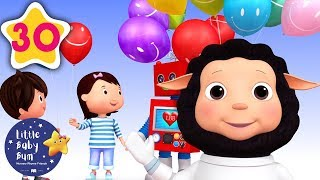 Color Balloons   +30 Minutes of Nursery Rhymes   Learn With LBB   #howto