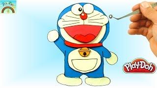 Play Doh Doraemon Pate à Modeler en Français FR ! Dessin Animés Tuto Entier & Complet