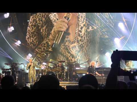 Queen + Adam Lambert - We Will Rock You- Philadelphia 07-16-2014