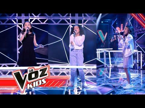 Daniela, Mía y Estefany cantan 'Sueños Rotos'- Batallas   La Voz Kids Colombia 2021
